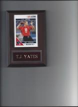 T.J. Yates Plaque Houston Texans Football Nfl - $0.01