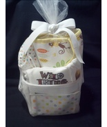 Ultimate Jungle Theme Boy Baby Shower Diaper Bag-Changing Pad, Onesie + ... - $139.00