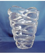 """LENOX Ovations Collection """"TIDES"""" CRYSTAL VASE, 8.75"""" Tall, Fine Lead Cr... - $68.00"""