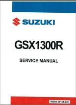 1999-2007 Suzuki GSX1300R Hayabusa Service Manual on a CD  -  GSX 1300 R GSX1300 - $12.99
