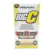 Magnum Nutraceuticals Big C - 200 Capsules - All Natural Creatine - Buil... - $41.15