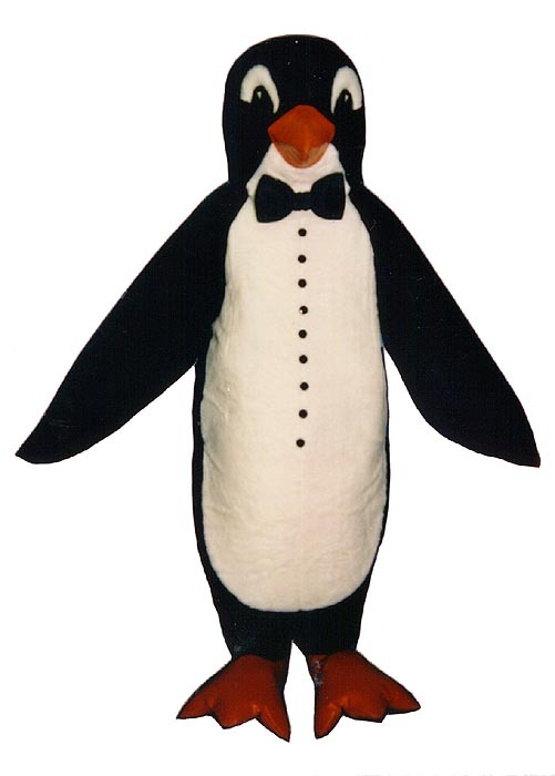 MADE TO ORDER PROFESSIONAL CUSTOM MADE TUXEDO PENGUIN MASCOT COSTUME