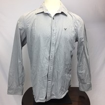 American Eagle Outfitters Vintage Fit Men's Dress Shirt Size L - $304,01 MXN