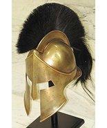 MEDIEVAL SPARTAN HELMET KING LEONIDAS 300 MOVIE HELMET REPLICA - ROLE PL... - $119.79
