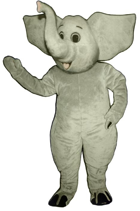 MADE TO ORDER PROFESSIONAL CUSTOM MADE ELEPHANT MASCOT COSTUME