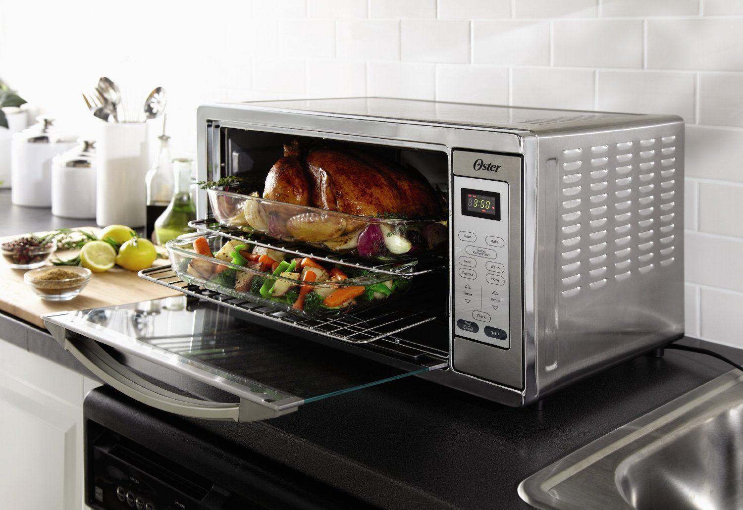 Countertop Convection Oven With Microwave : Convection Countertop Stove Microwave Conventional Pizza Turbo Oven ...