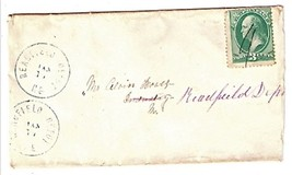 c1875 Readfield Depot, ME Discontinued/Defunct Post Office (DPO) Postal ... - $7.99
