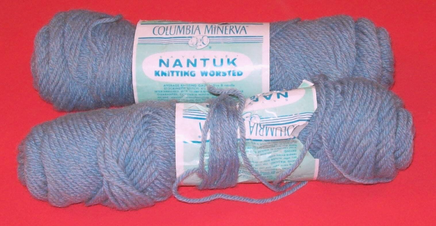 Columbia minerva yarn