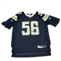 VINTAGE Reebok Shawne Merriman San Diego Chargers Football Jersey Youth Size L - $27.33