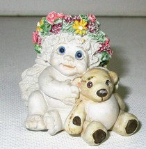 DREAMSICLES LITTLE ANGEL FIGURINE 2 INCHES TALL - $8.95