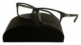 Prada Unisex Gray Marble Glasses with case VPR 06S USD-1O1 56mm - $209.99