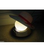 Vintage Mod Retro  Lighting  Night Light  Lamp LADIES HAT Tabletop MIB - $39.00