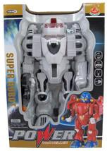 "12"" Remoteless Transforming Galactic Space Robo... - $26.72"