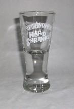 Shot Glass Southern Comfort Head Shrinker Liquor Bar Shooter Fluted 2 oz... - $14.99
