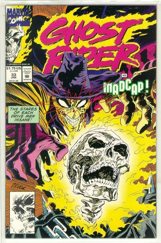 GHOST RIDER #33 (1990 Series) NM!