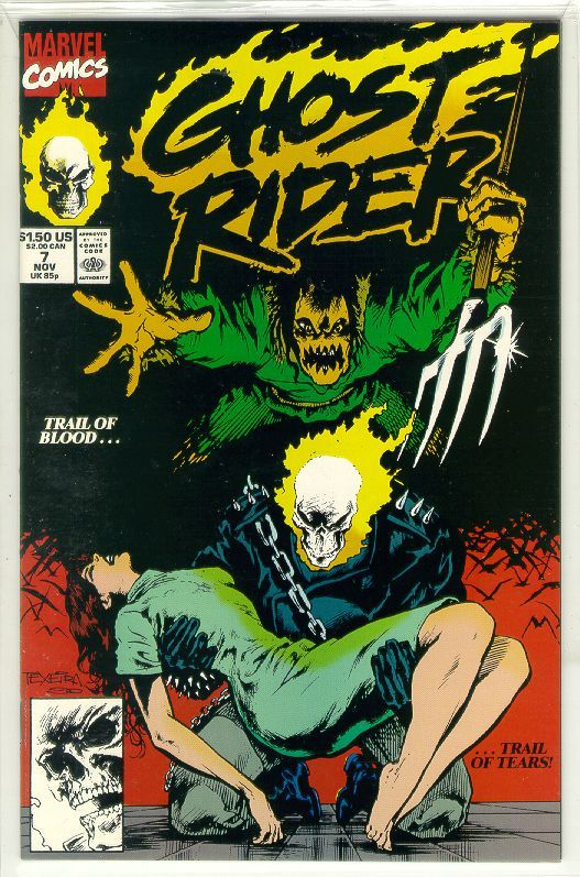 GHOST RIDER #7 (1990 Series)