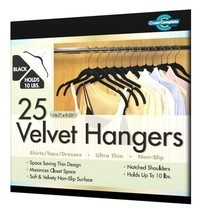 New Closet Ultra Thin No Slip Velvet Hangers fo... - $32.18