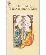 C.S. Lewis The Abolition of Man Paperback 1978 Vintage Philosophy - $15.00