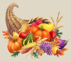 Thanksgiving Horn Of PLenty Cross Stitch Pattern***L@@K*** - $4.95