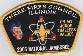 BSA Three Fires Council JSP - 2005 Jamboree - $8.99