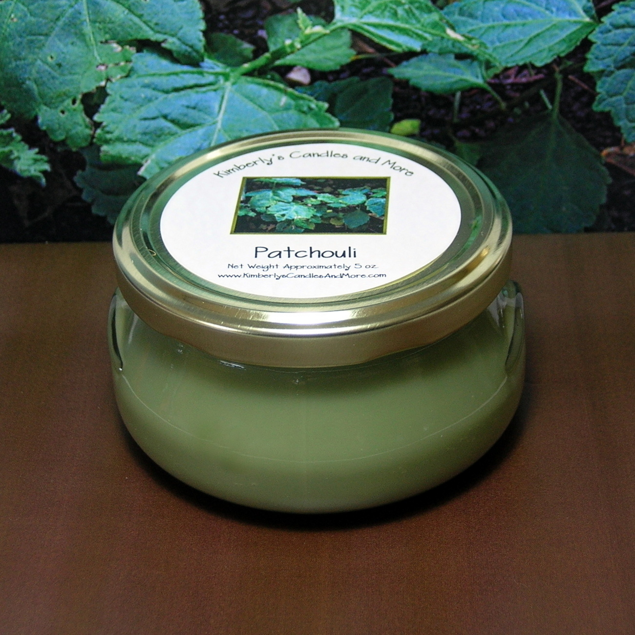 Patchouli 6 oz. Tureen Jar Wickless Candle
