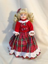 So Cute Victoria Ashlea Limited Edition Christmas Doll Exclusive for Goebel - $11.76