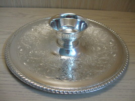 Wm Rogers Silver Plate Chip & Dip Vegetable Tra... - $16.99