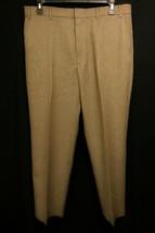 LEVIS Action Slacks Vintage Men's Flat Front Pants W 40 x I 29.5 Brown D... - $28.00
