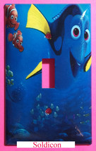 Finding Dory Nemo Light Switch Power Outlet Cover Plate Home decor image 1