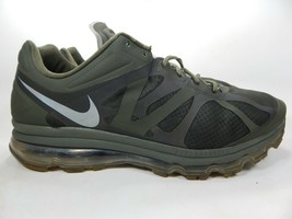 Nike Air Max + 2012 Größe Us 18 M (D) Eu 52.5 Herren Laufschuhe Grün 487982-300