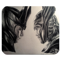 Mouse Pad Thor And Loki Drawing Face Asgard Prince Heroes Game Animation... - €5,28 EUR