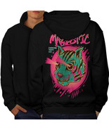 Shooting Laser Cool Cat Sweatshirt Hoody  Men Hoodie Back - $20.99+
