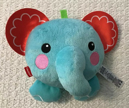 Fisher Price Peek-a-Boo Giggles BITSY Elephant Plush Pal - Fun Phrases &... - $9.89