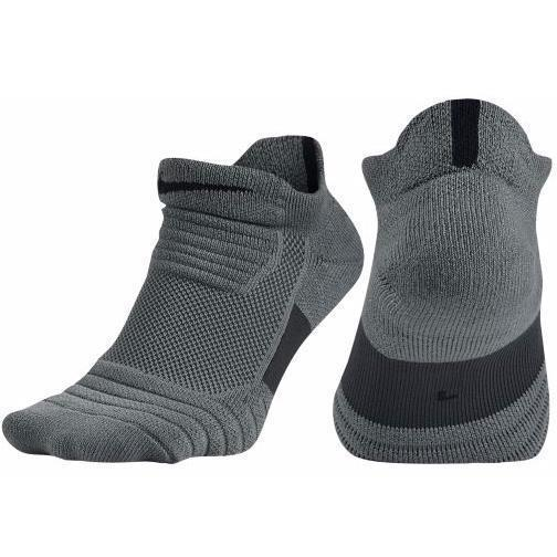 Primary image for Nike Mens Elite Versatility Low Cut Gray Basketball Socks Size M XL SX5424-065
