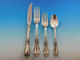 Royal Rose by Wallace Sterling Silver Flatware Set for 8 Service 36 pieces - $2,150.00