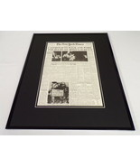 New York Times Feb 6 1971 Framed 16x20 Front Page Poster Apollo 14 on Moon - $74.44