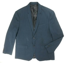 NEW KENNETH COLE REACTION BLUE HEATHER 2 BTN SPORTCOAT BLAZER XL/47**IMP... - $34.65