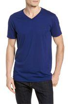 Lacoste Men's Premium Pima Cotton V-Neck Sport Shirt T-Shirt Tonal Croc image 14