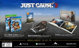 Just Cause 3 Collector's Edition - PlayStation 4 Disc - $62.23