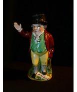 "Toby Jug Figurine Mr. Pickwick Old Staffordshire Ware England 7-1/2"" - $19.31"