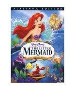 Walt Disney The little Mermaid Platinum Edition DVD - $13.99