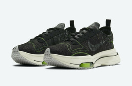 NIKE AIR ZOOM-TYPE MEN SIZE 7.5 BLACK AND ELECTRIC GREEN NEW RARE COMFOR... - $148.49