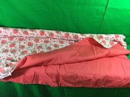 Vintage Strawberry Shortcake Handmade Hand-Tied Quilt Collectible - $32.73