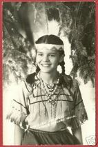 Harbor Springs MI Indian Princess RPPC Postcard BJs - $24.99