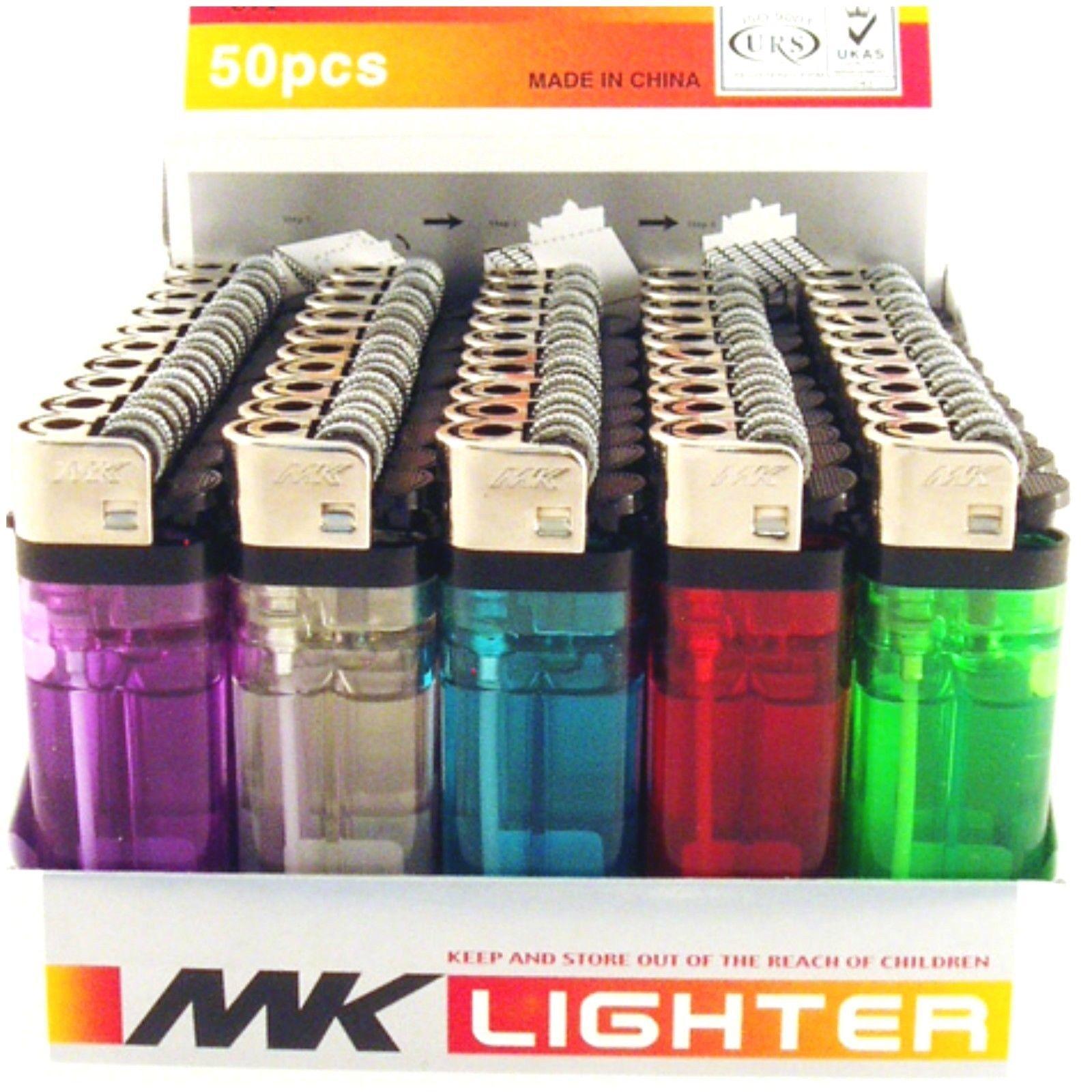 Lot of 50 Disposable Cigarette Lighters Wholesale Bulk Lighter 50 PACK Resale