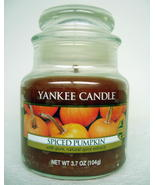 Yankee Candle Spiced Pumpkin Small Jar New Home... - $5.49