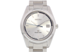 Top Mint GRAND SEIKO SBGX271 9F62-0AB0 9F Quartz Watch SS Silver Men's W... - $1,542.42