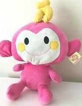 "XLarge 15.5"" Chi Chai Monchan Sanrio Hello Kitty Plush Toy Pink Monkey . NEW - $19.59"