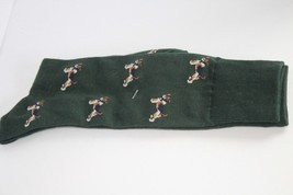 Rare New Old Stock Polo Ralph Lauren 9-11 Mens Dress Sock puppy dogs - $6.00