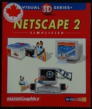 Netscape 2 Simplified...by the Marangraphics Staff (used paperback) - $7.00